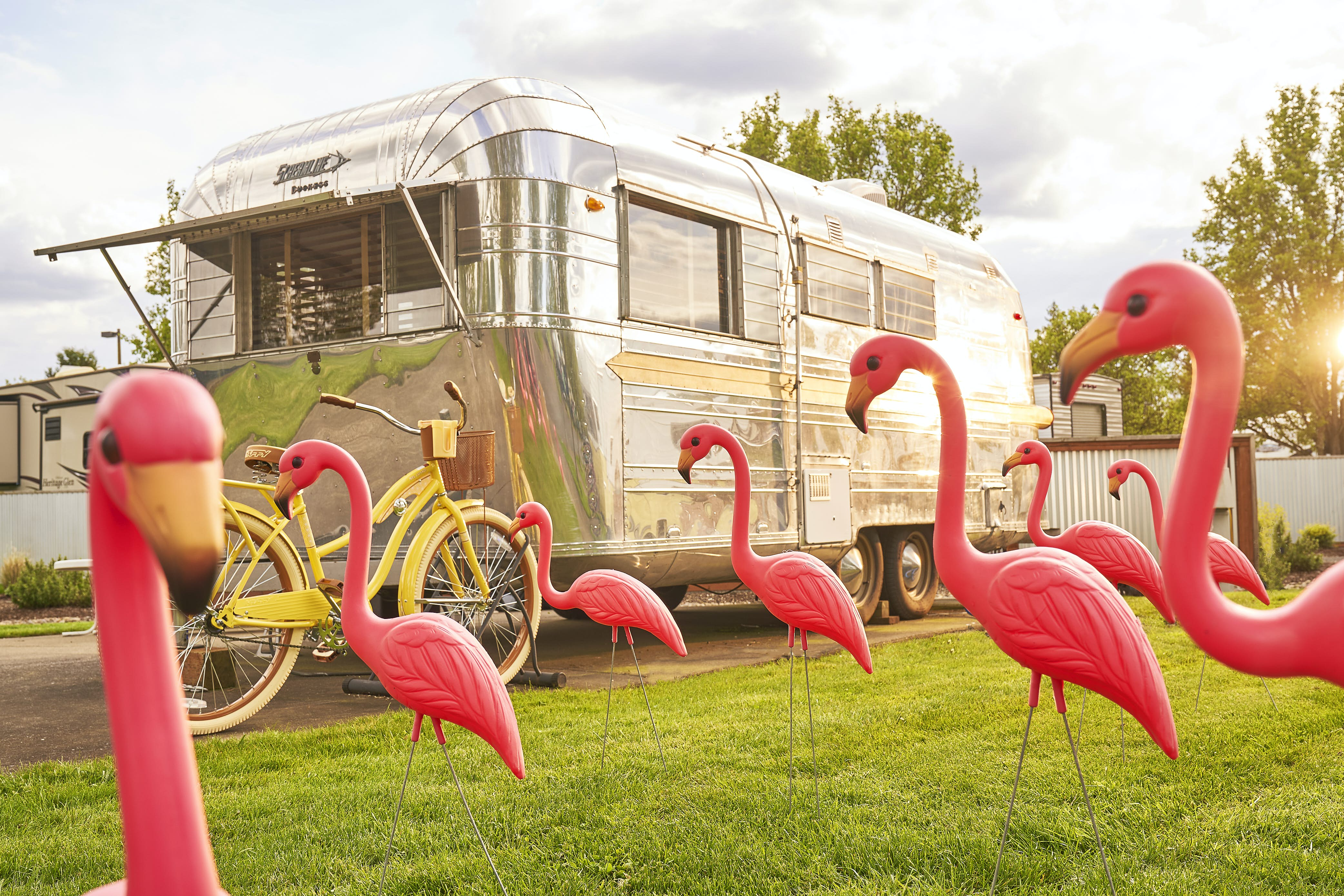 Airstream Caravan Vintage stay in a vintage airstream at these quirky caravan hotels