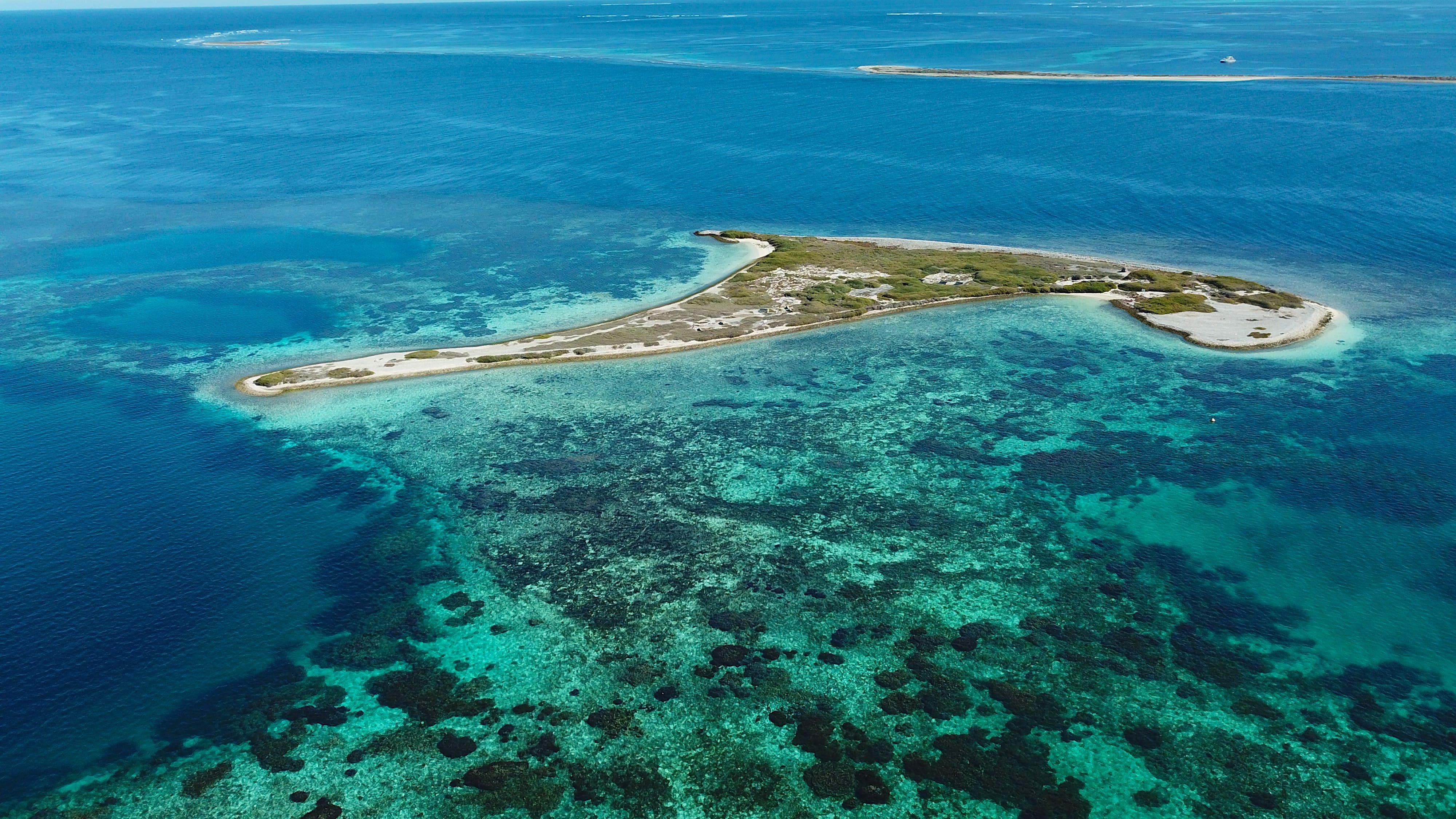 El Parque Nacional Houtman Abrolhos Islands