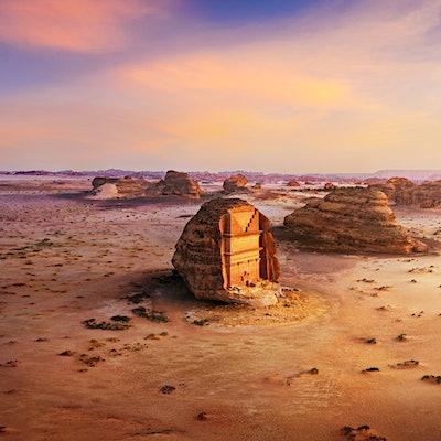 Madain Saleh © Photo provided by Visit Saudi