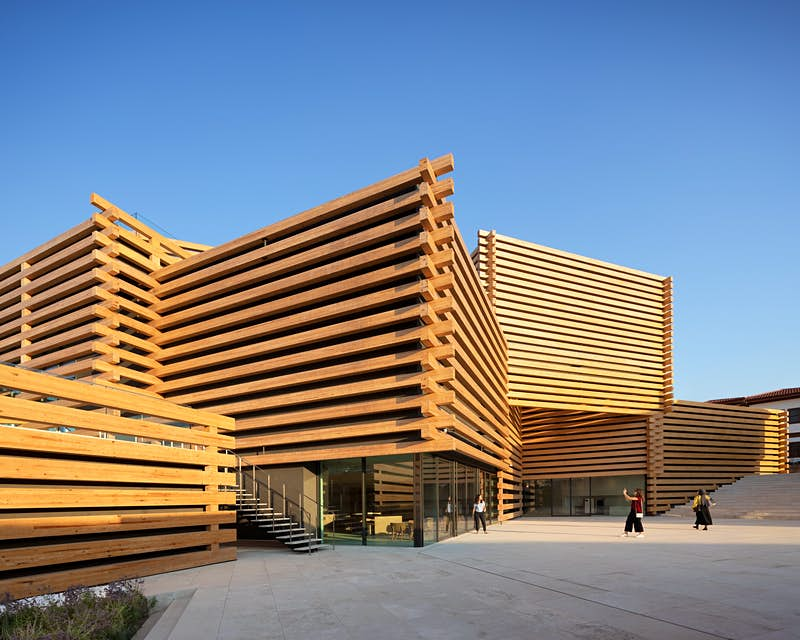 Turkey's new modern art museum looks like a contemporary sculpture