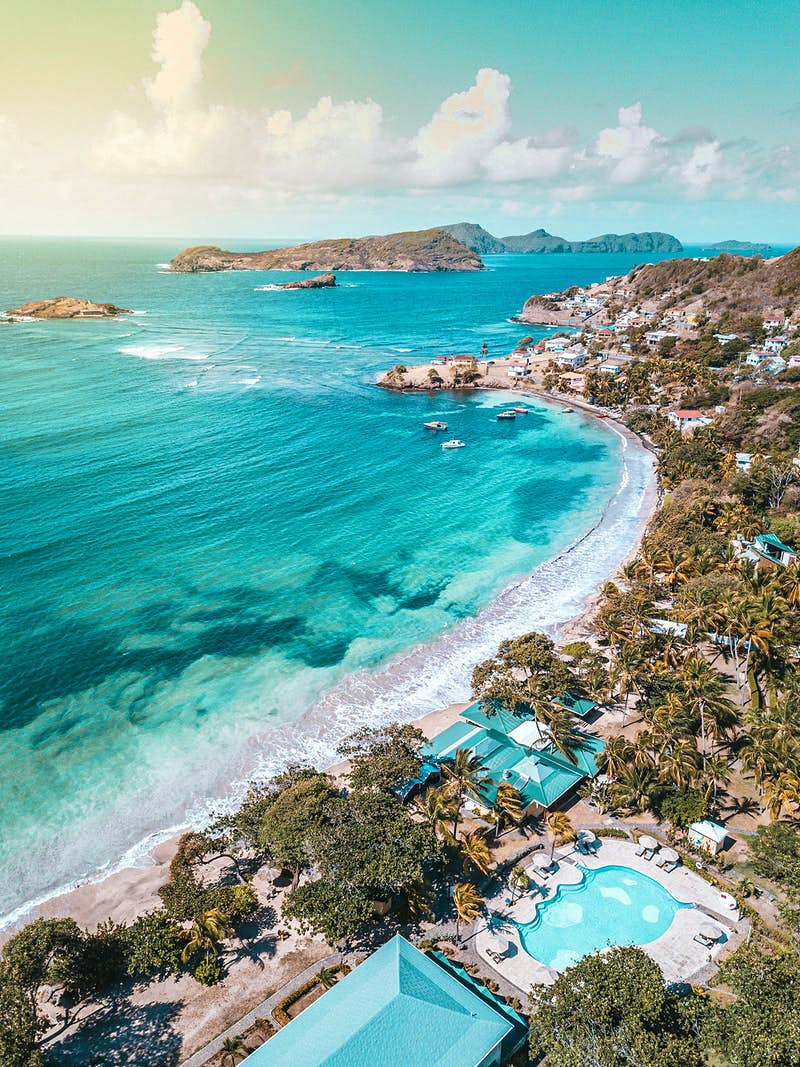 Escape to this under-the-radar Caribbean island with a private aircraft experience