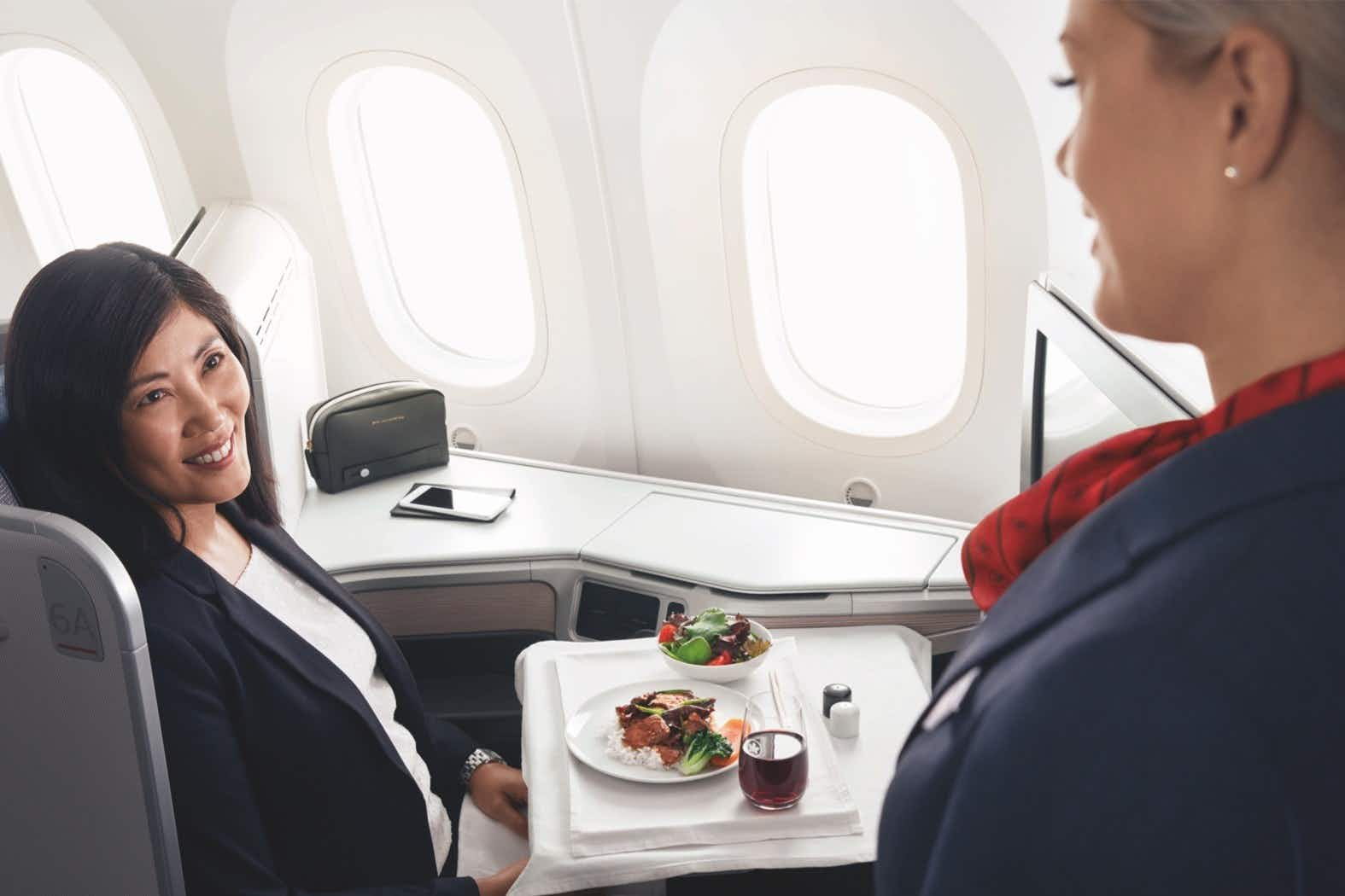Air Canada is changing how its cabin crew addresses passengers © Air Canada
