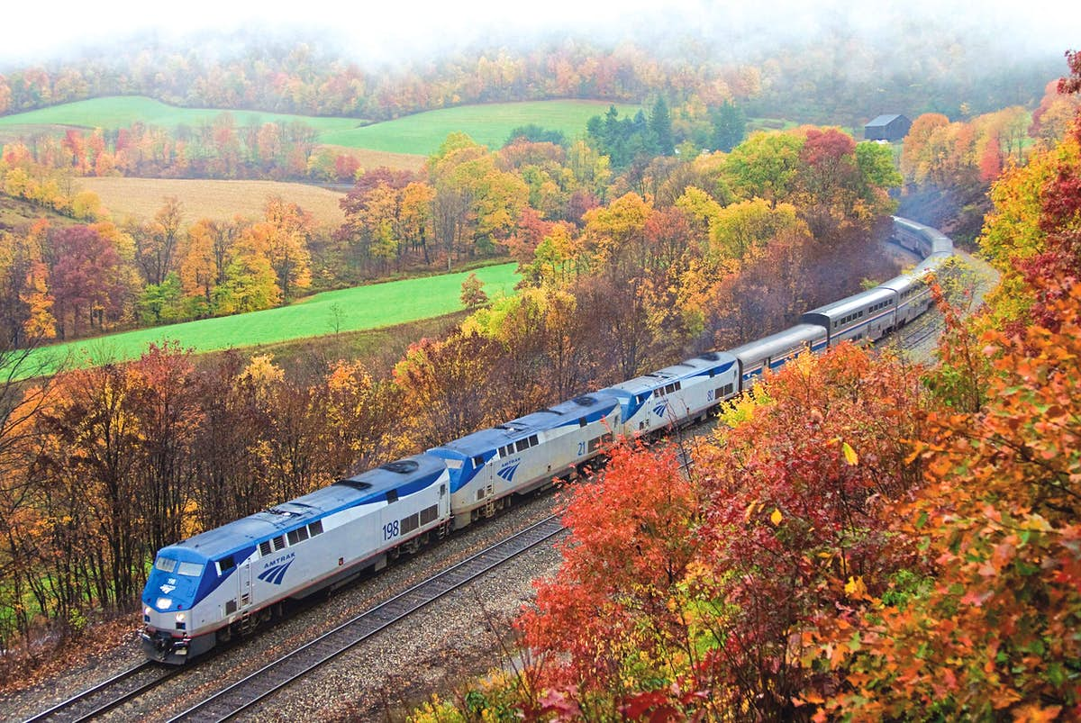Can you travel in a loop around the US by train for less than $1,000?