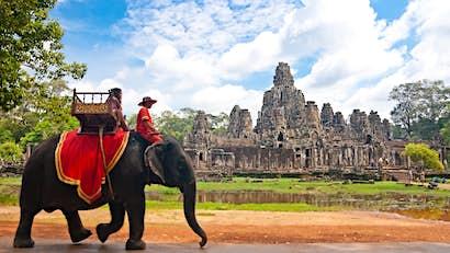 Cambodia is ending elephant rides at Angkor Wat