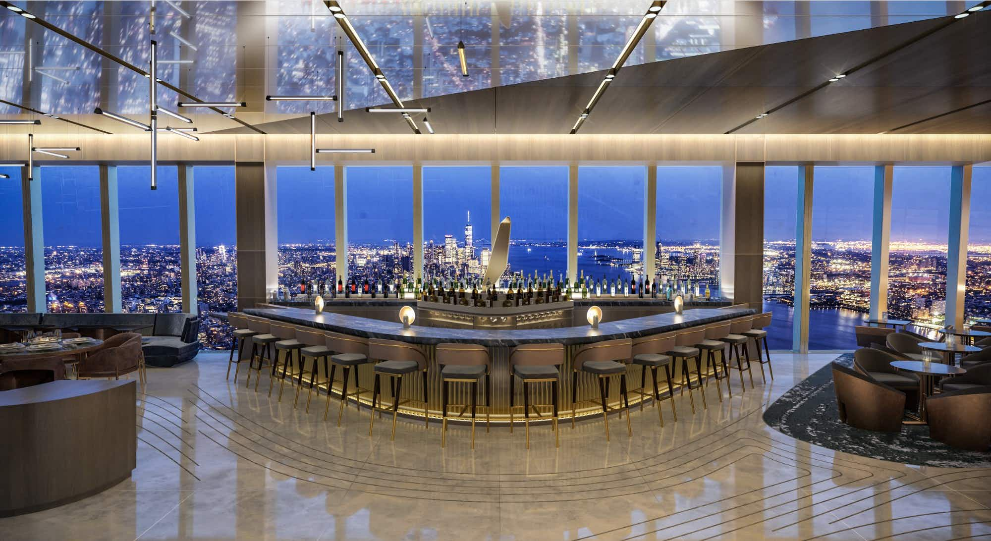 Peak will offer diners spectacular views © Peak
