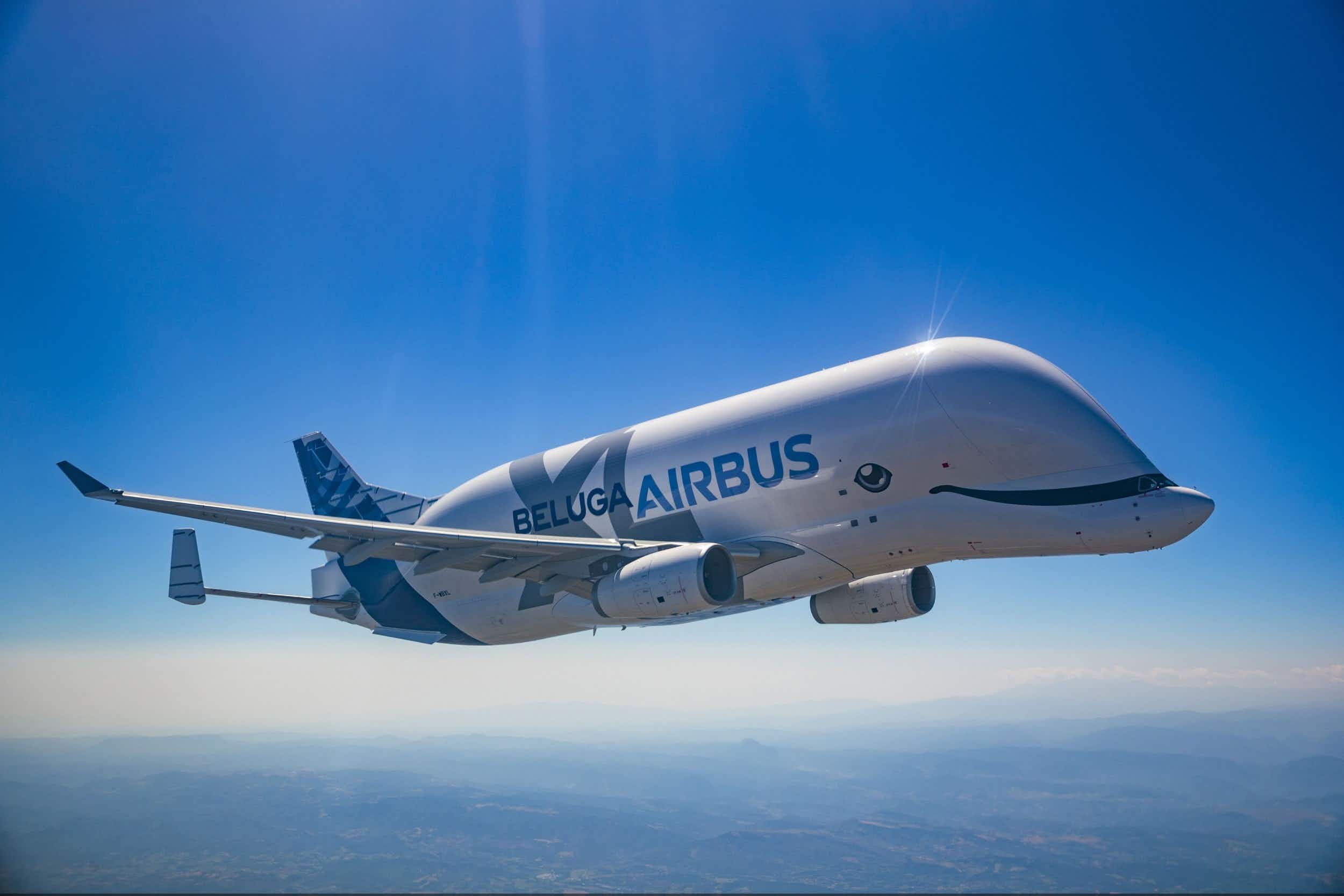 The new Airbus BelugaXL has made its first operational flight © S. Ramadier