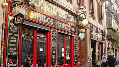 Madrid's oldest restaurants and bars offer tapas, vino and history