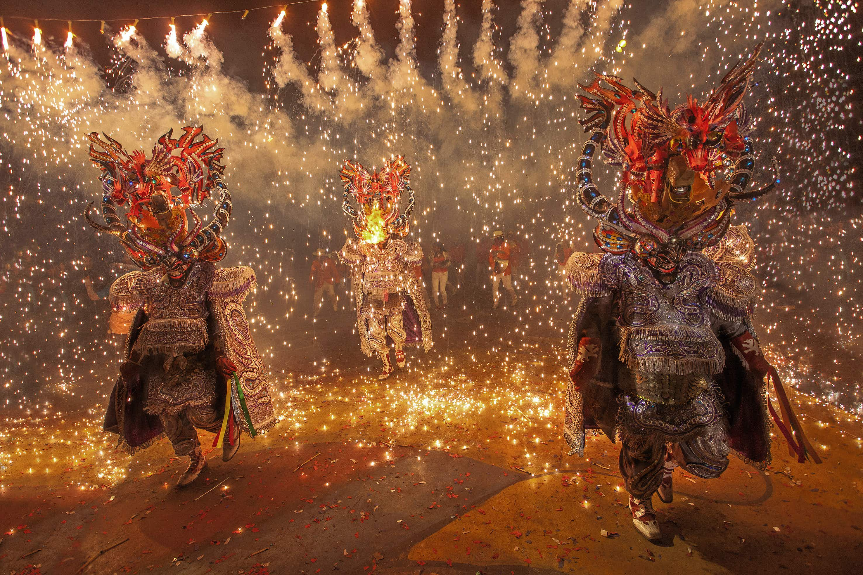 Carnival isn't just sparkles and feathers – learn more about Latin America's most unique carnival traditions © Marcelo Chacón Aracena / Getty Images