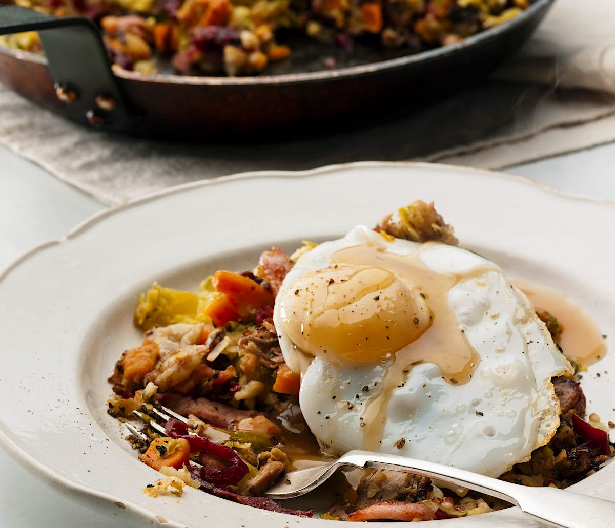 How to make British bubble and squeak