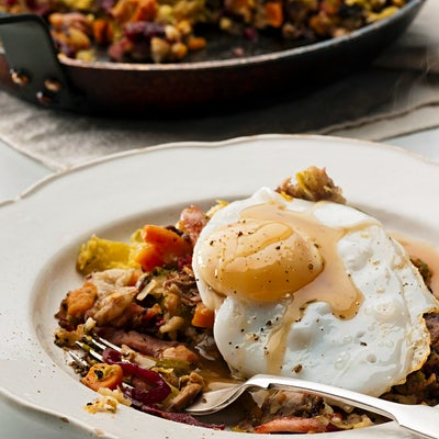 The Travel Kitchen series #17: British bubble and squeak