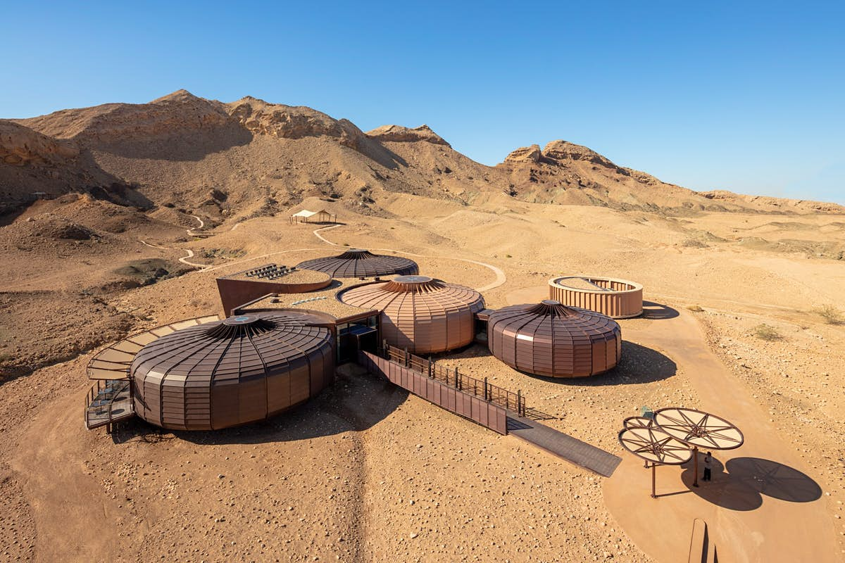 Stunning new visitor centre explores the wonders of the Sharjah desert