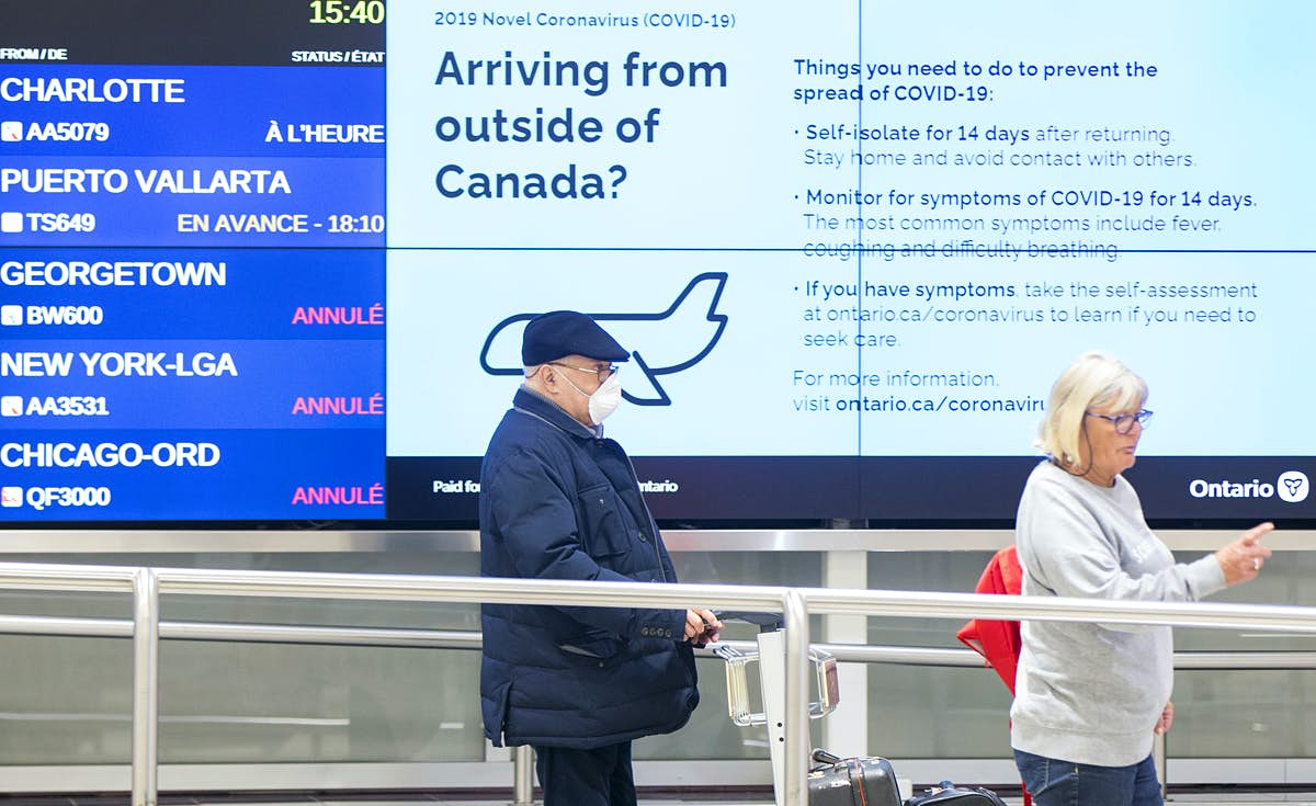 Travellers entering Canada must self-quarantine for 14 days or face hefty fines - Lonely Planet
