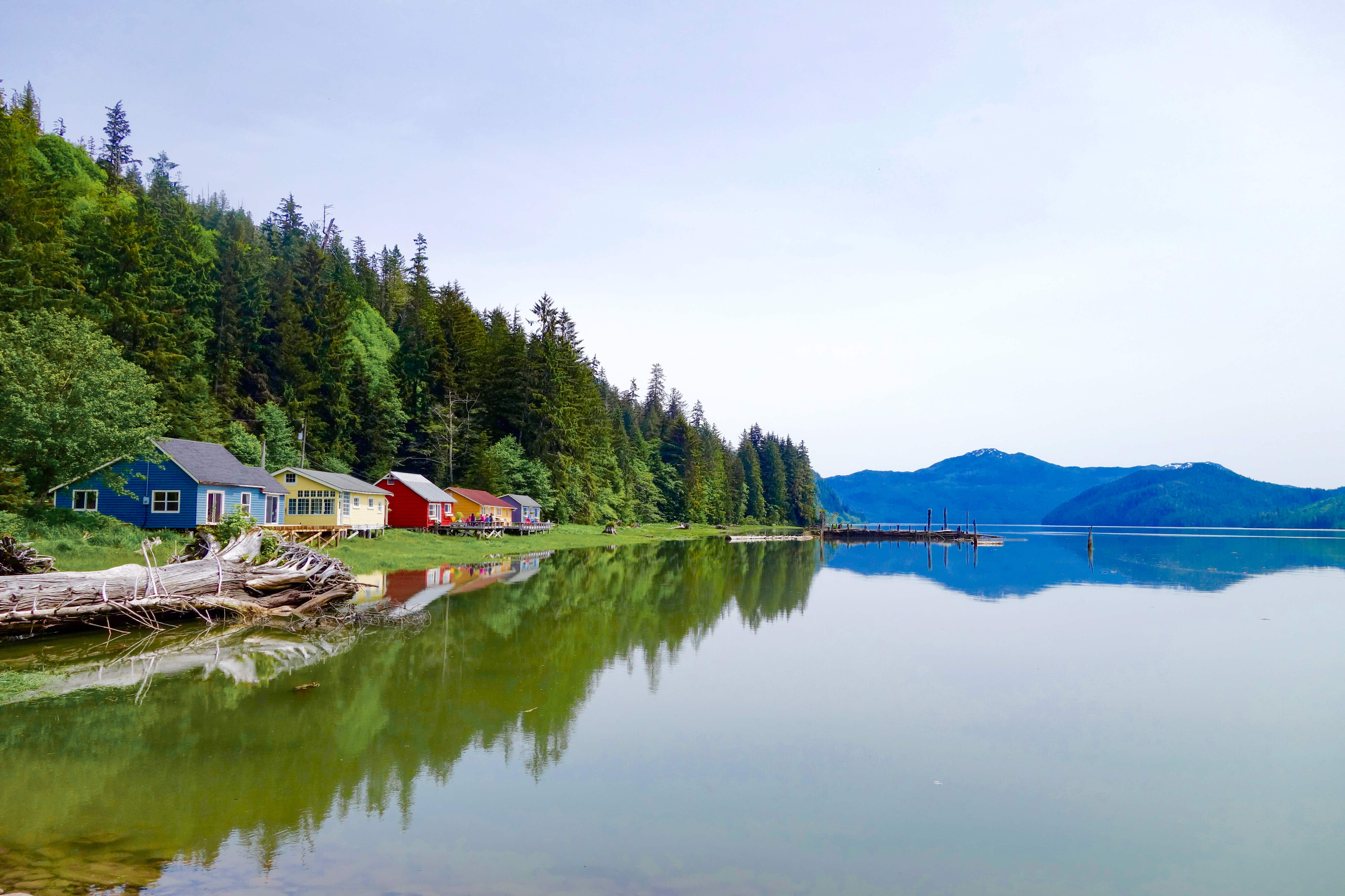 Once an old cannery in British Columbia, Cassiar retains an element of remote, fishing-camp charm © Justine Crawford