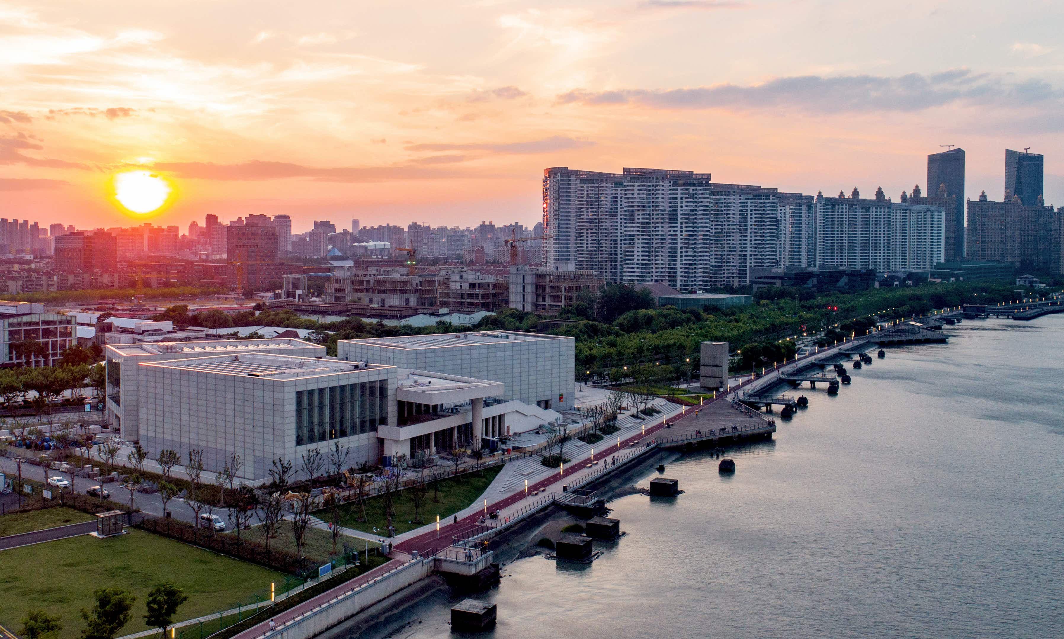 Paris' Centre Pompidou opens satellite museum in Shanghai