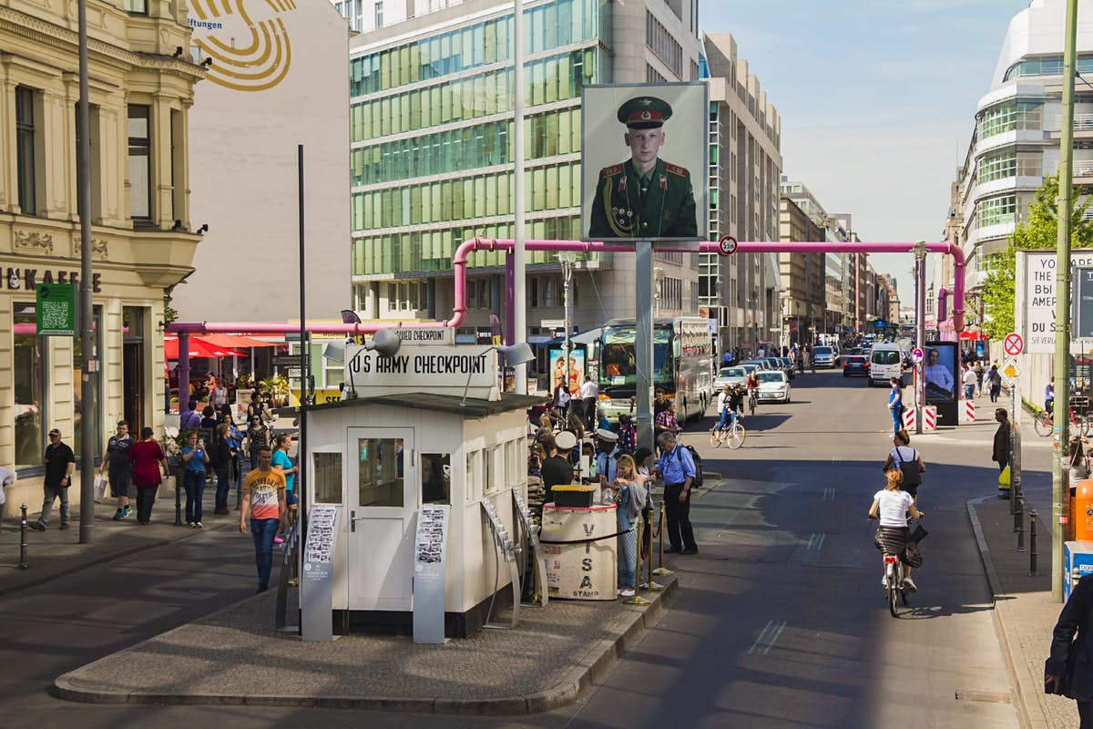 You'll no longer see soldiers at Berlin's Checkpoint Charlie