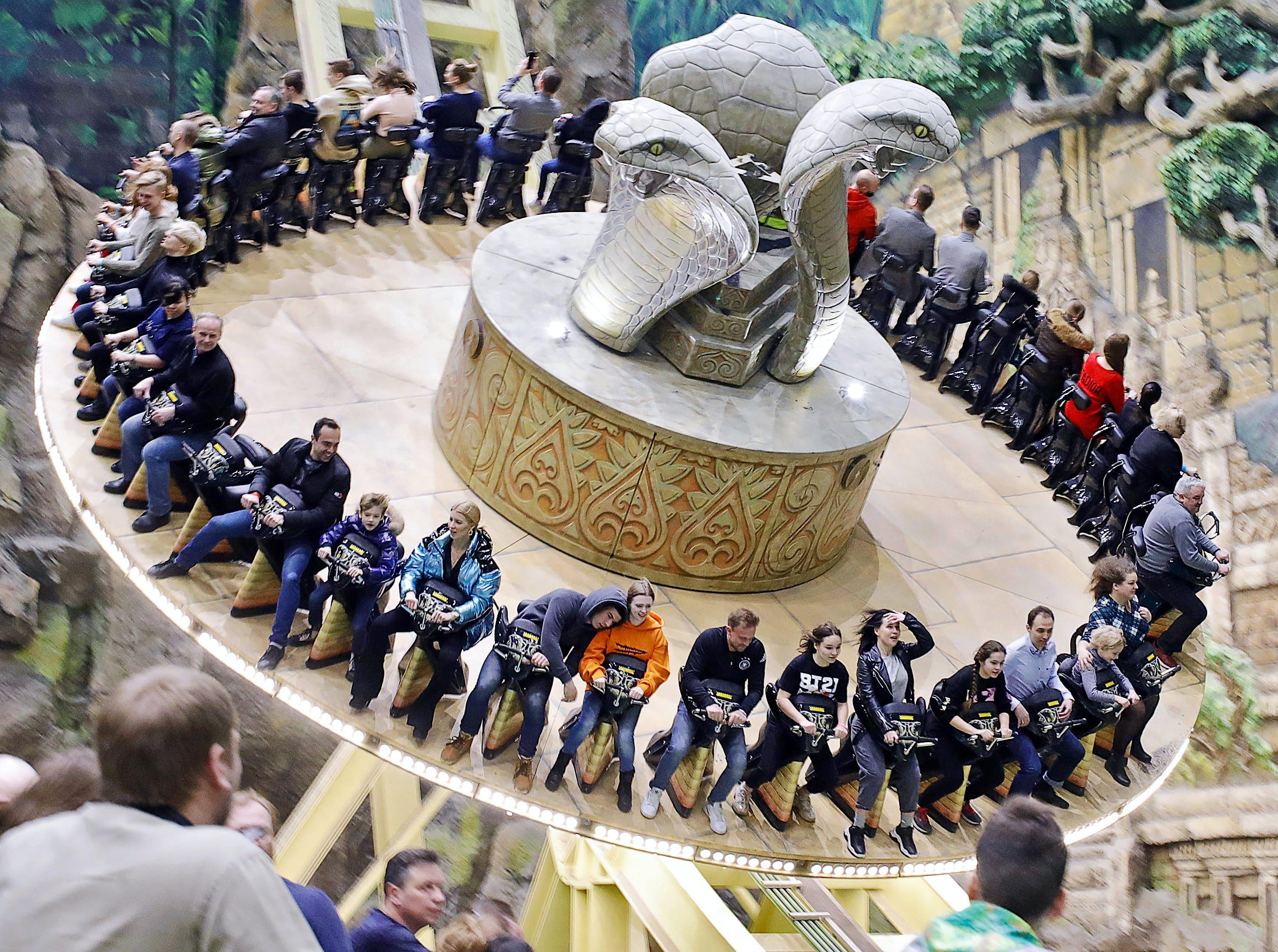 A Rússia abriu seu primeiro parque temático de grande escala