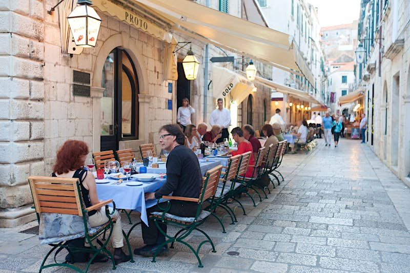 Dubrovnik is considering a move that would mean an effective ban of all new restaurants