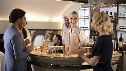 Is flying getting more luxurious?