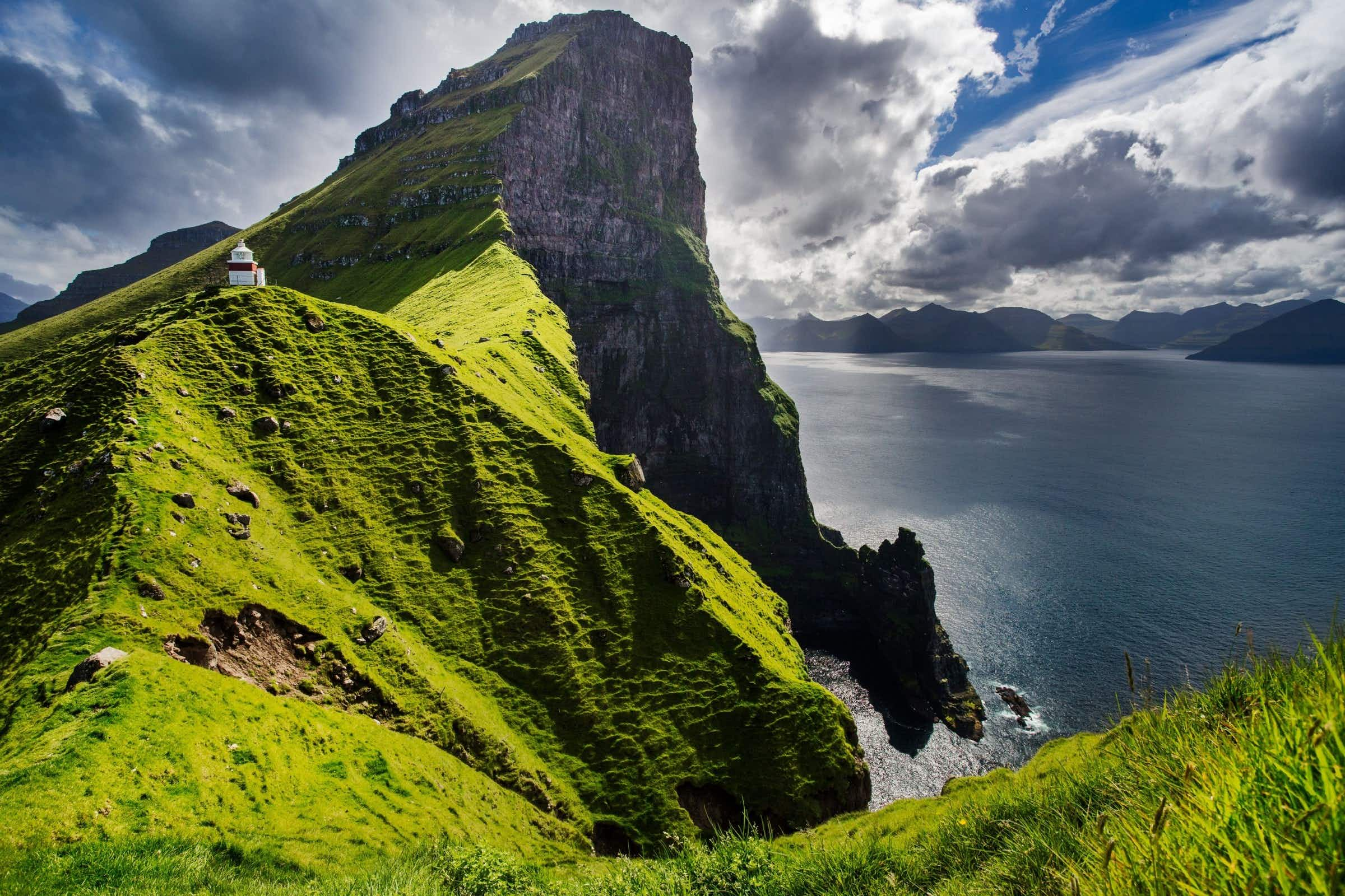 Scenes from the new James Bond film are being shot on Kalsoy Island in the Faroe Islands ©Federica Violin/Shutterstock