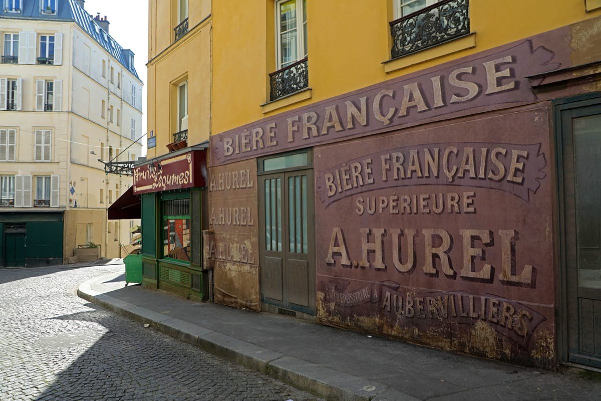 Parisien district looks like its 1942 thanks to an abandoned film set