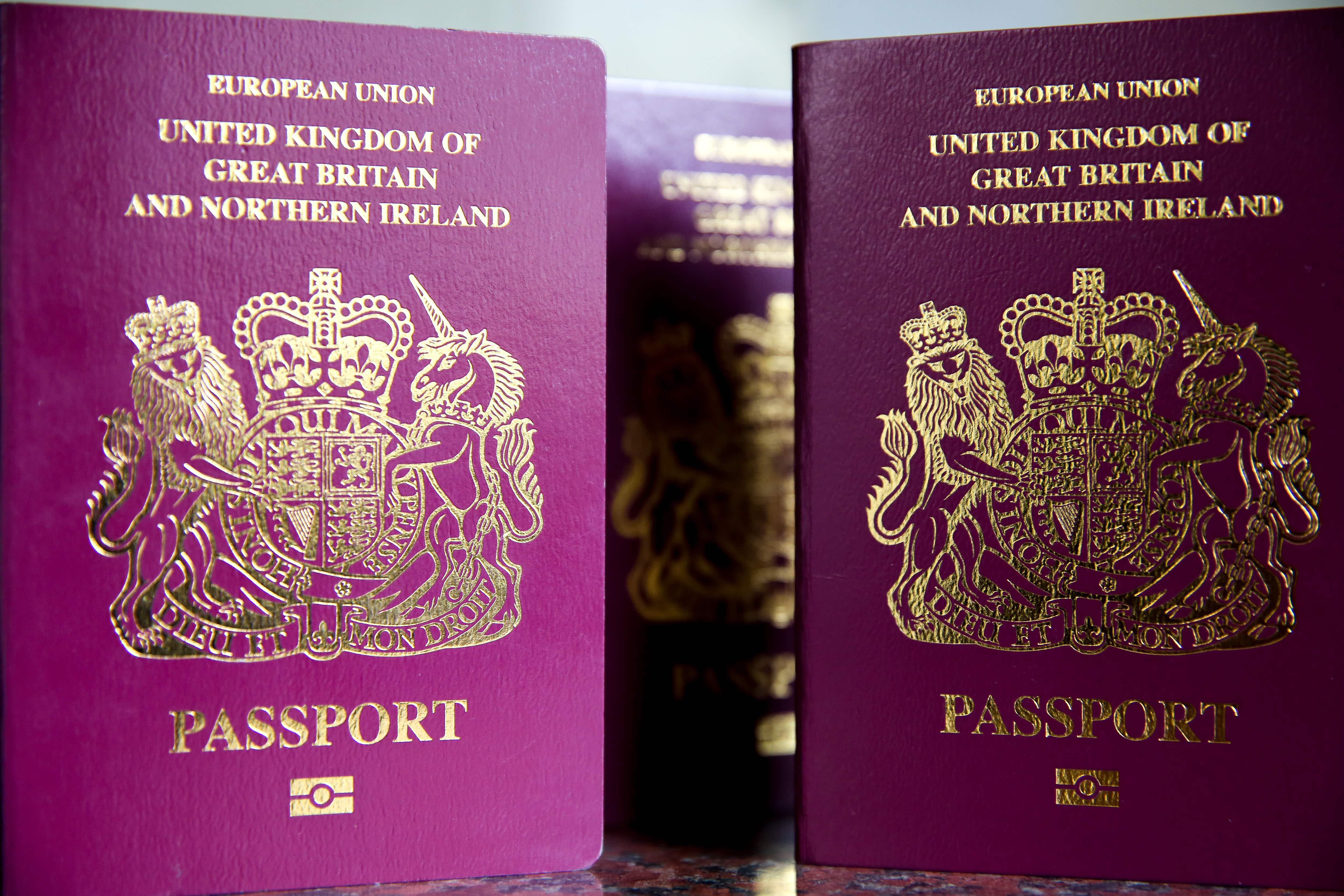 The UK government has launched a travel checklist for British citizens in the event of a no deal Brexit. Image by Getty Images