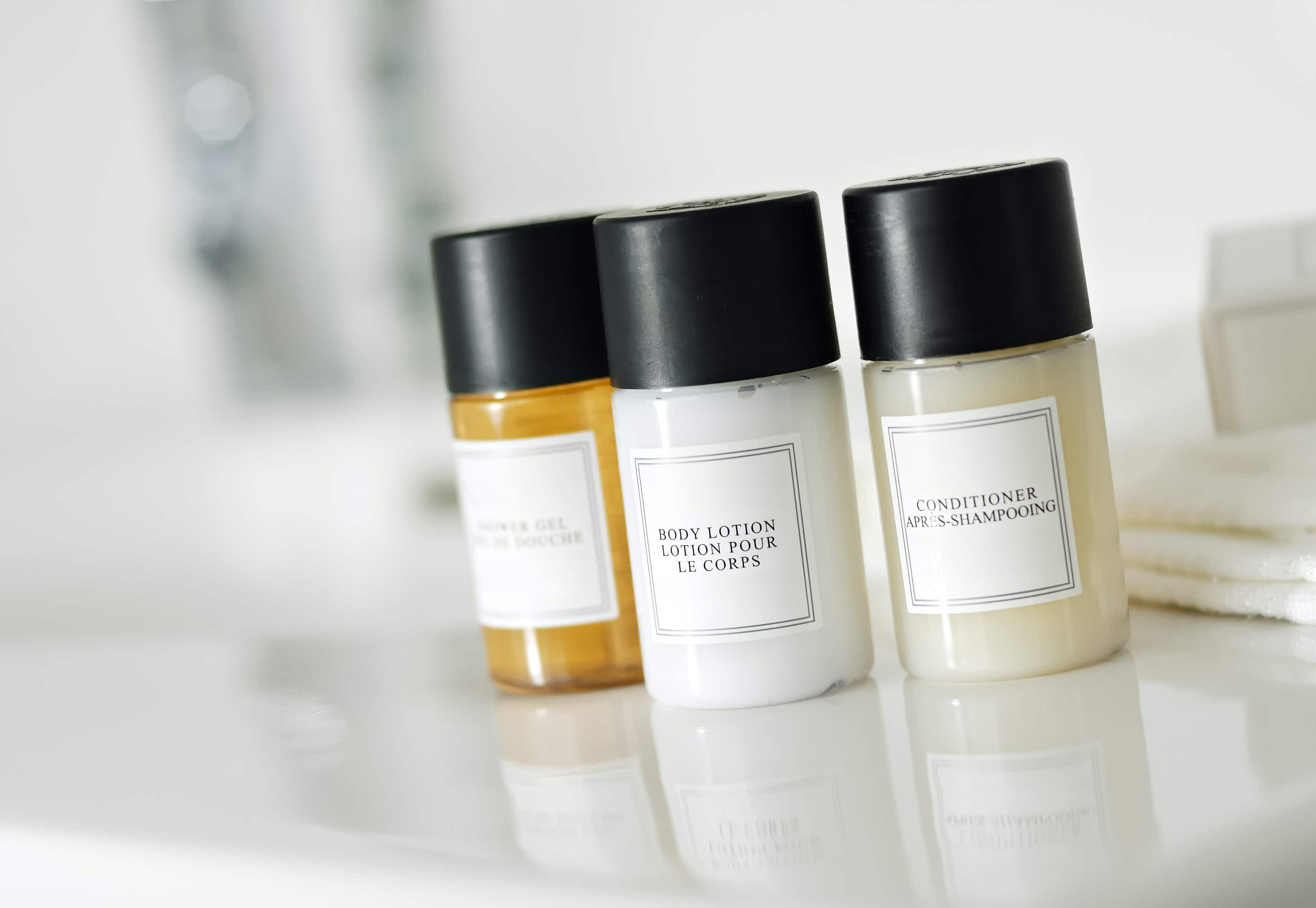 New York proposes a blanket ban on mini toiletries in hotels and guest rooms. Image by Getty