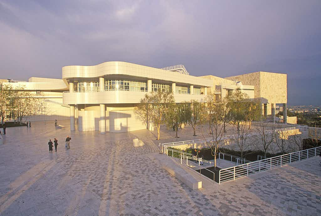The Getty Center complex in Brentwood ©Joe Sohm/Visions of America/Universal Images Group/Getty Images