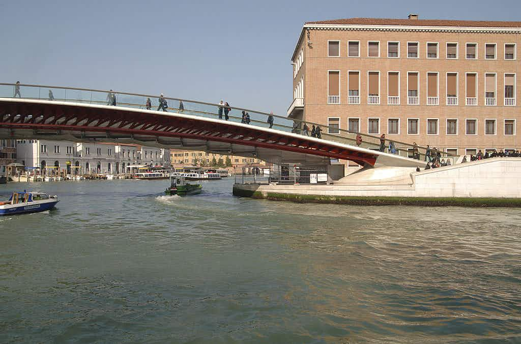 Venice's landmark Ponte della Costituzione bridge ©View Pictures/Universal Images Group/Getty