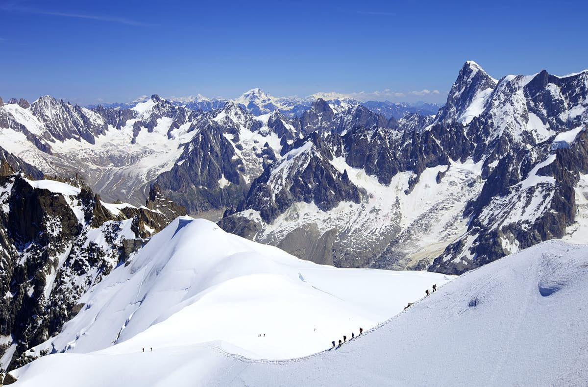 Mont Blanc: roads closed amid fears glacier will collapse