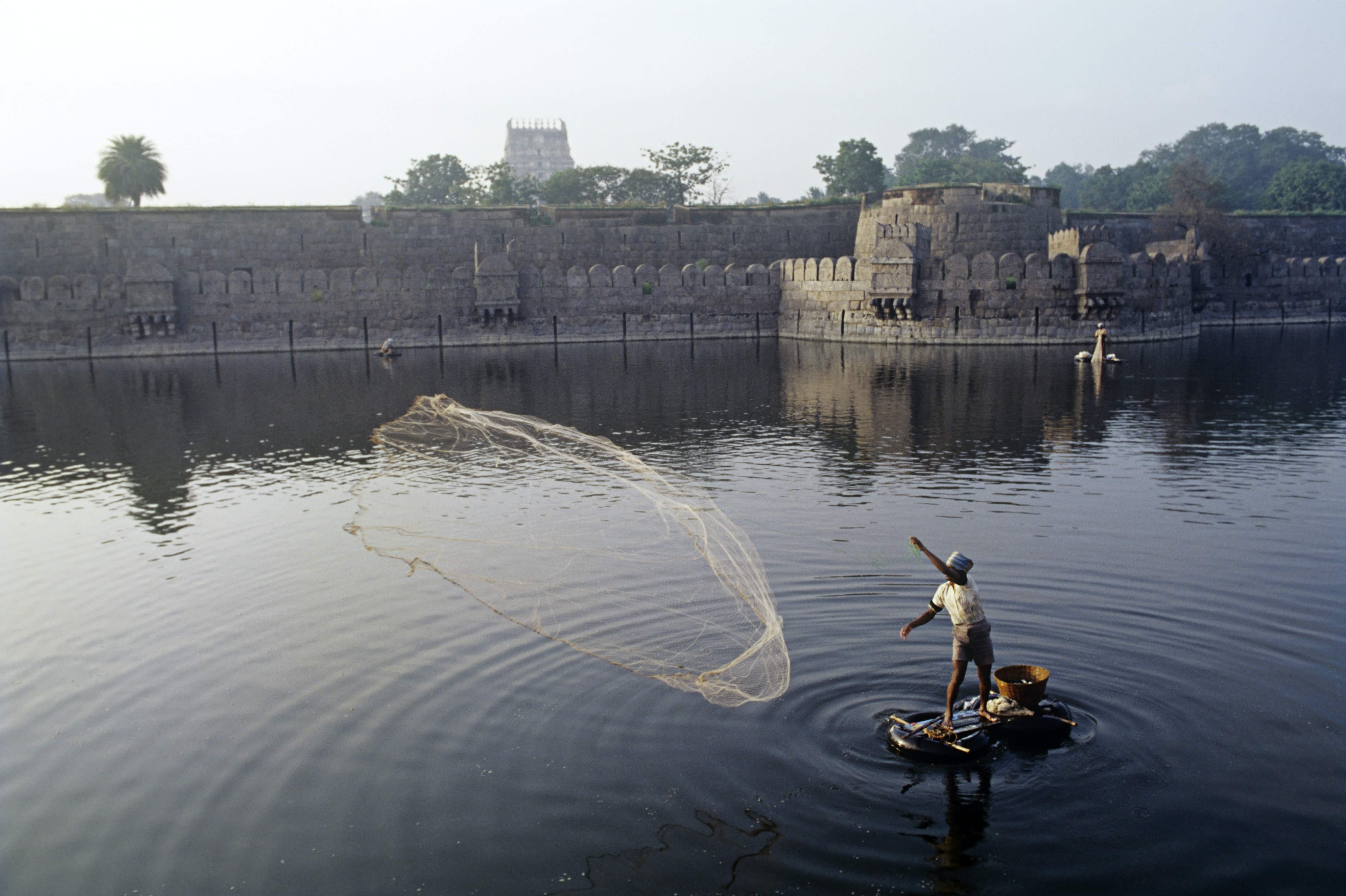 The imposing fort at Vellore was at various times Hindu, Muslim and Christian © IndiaPictures / Getty Images
