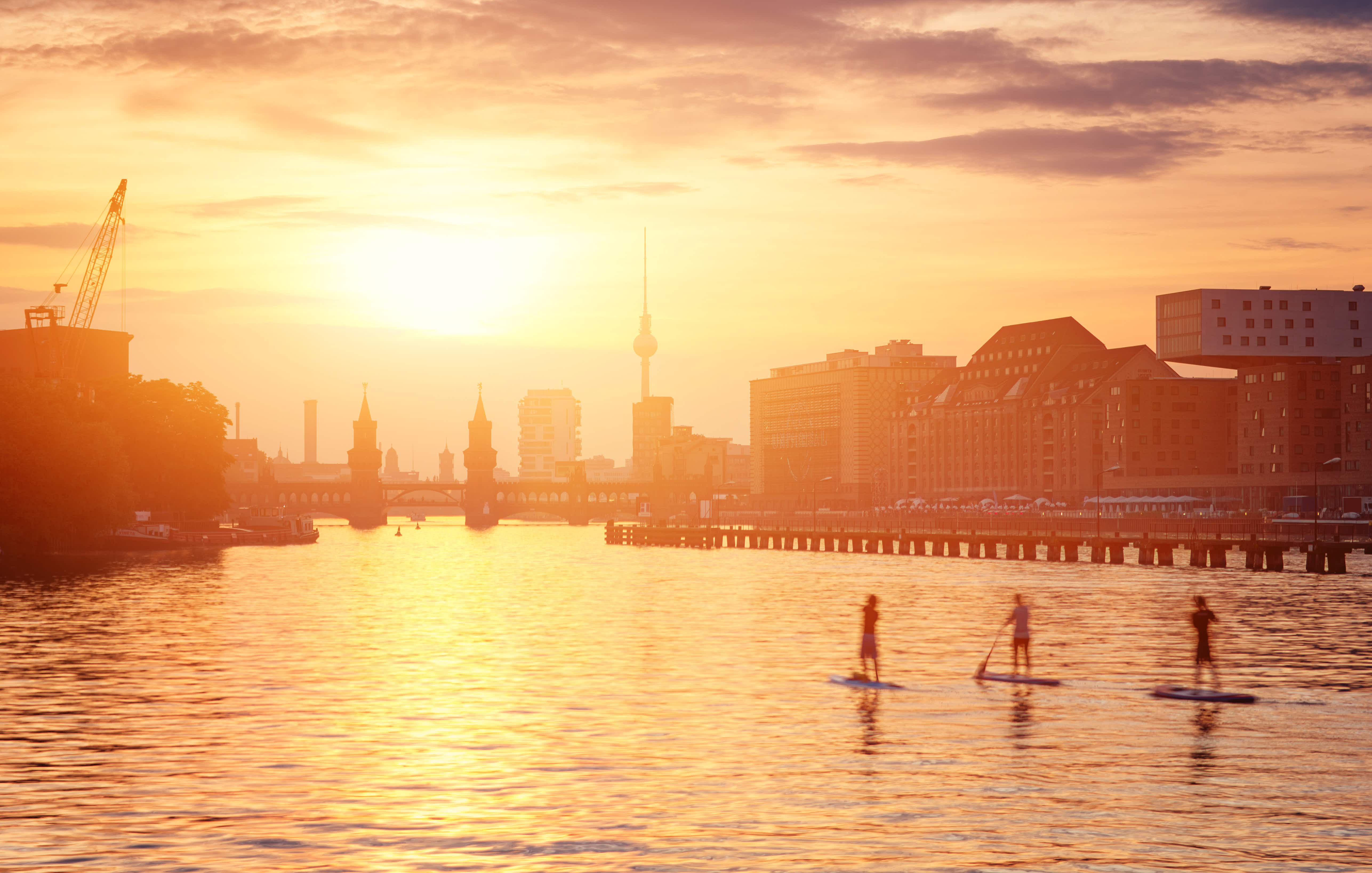 Finding the right mix of cosmopolitan-cool and physical activity can be hard, but Berlin has a great mix for teens and parents alike © Matthias Makarinus / Getty Images