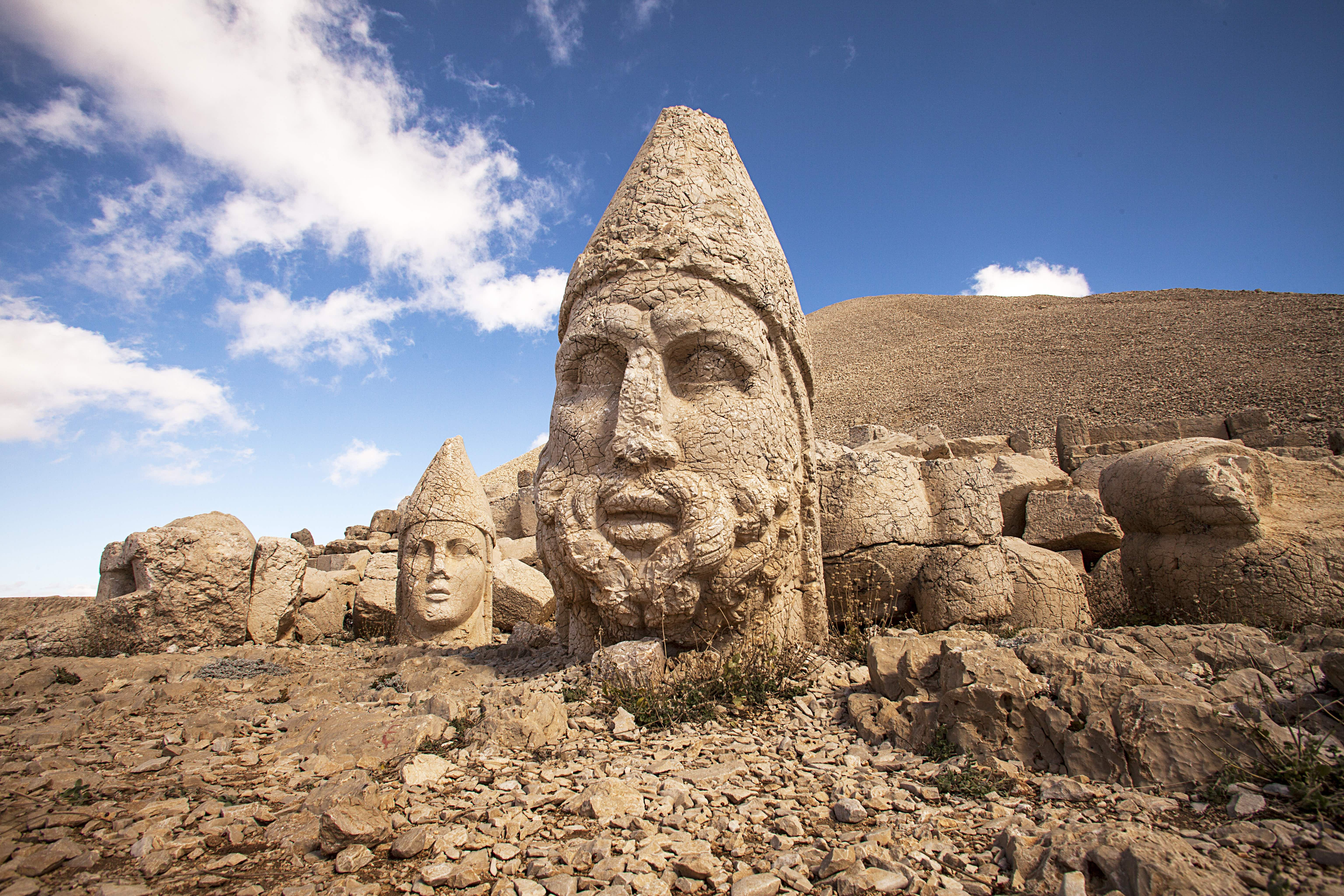 The famous disembodied heads at Nemrut Dağı © f28production / Getty Images