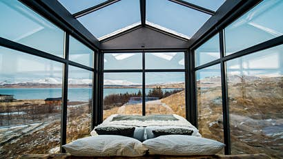 Outside in: 7 stunning hotels where you'll sleep behind glass walls