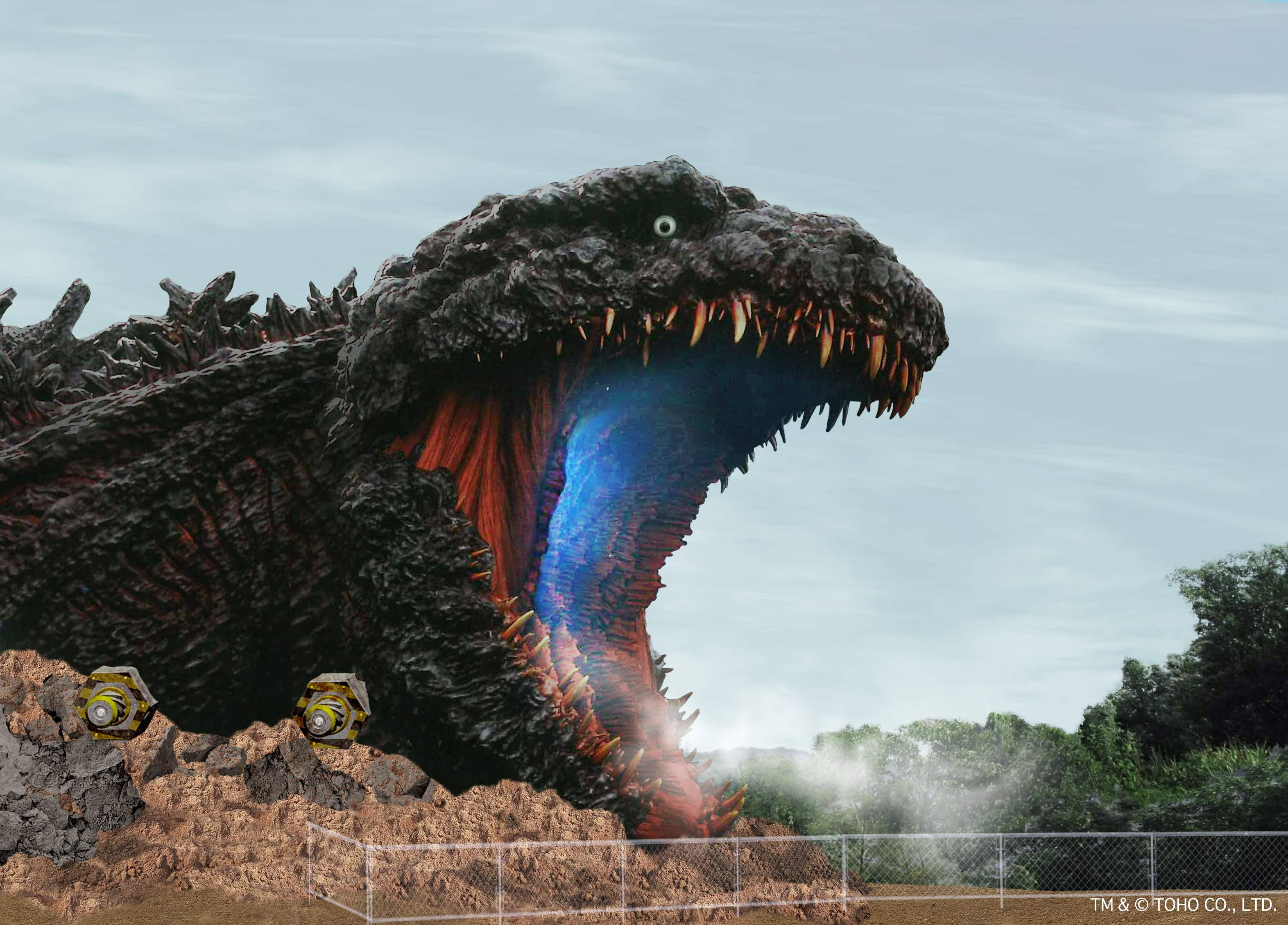 The world's biggest Godzilla attraction is coming to Japan