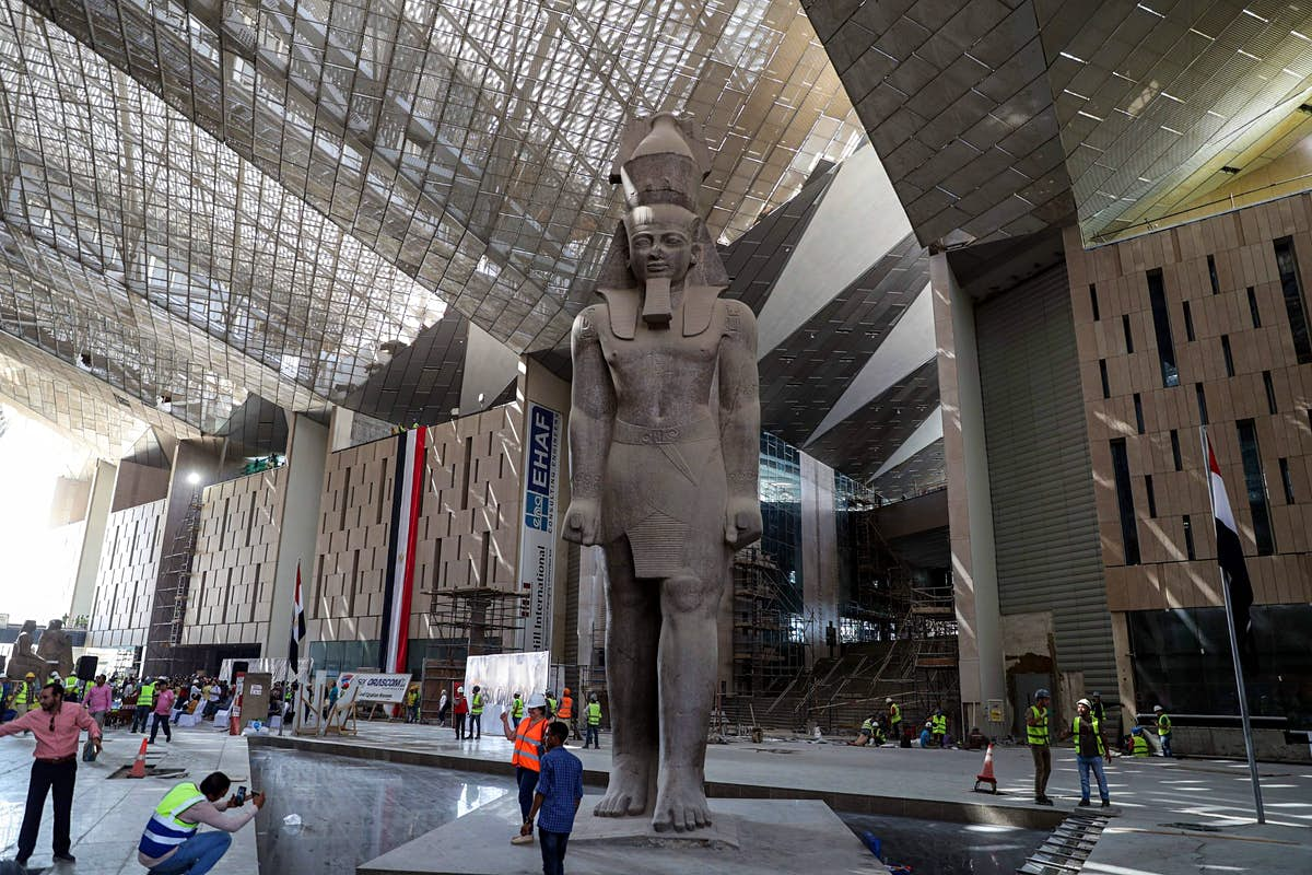 The Grand Egyptian Museum will finally open at the end of 2020