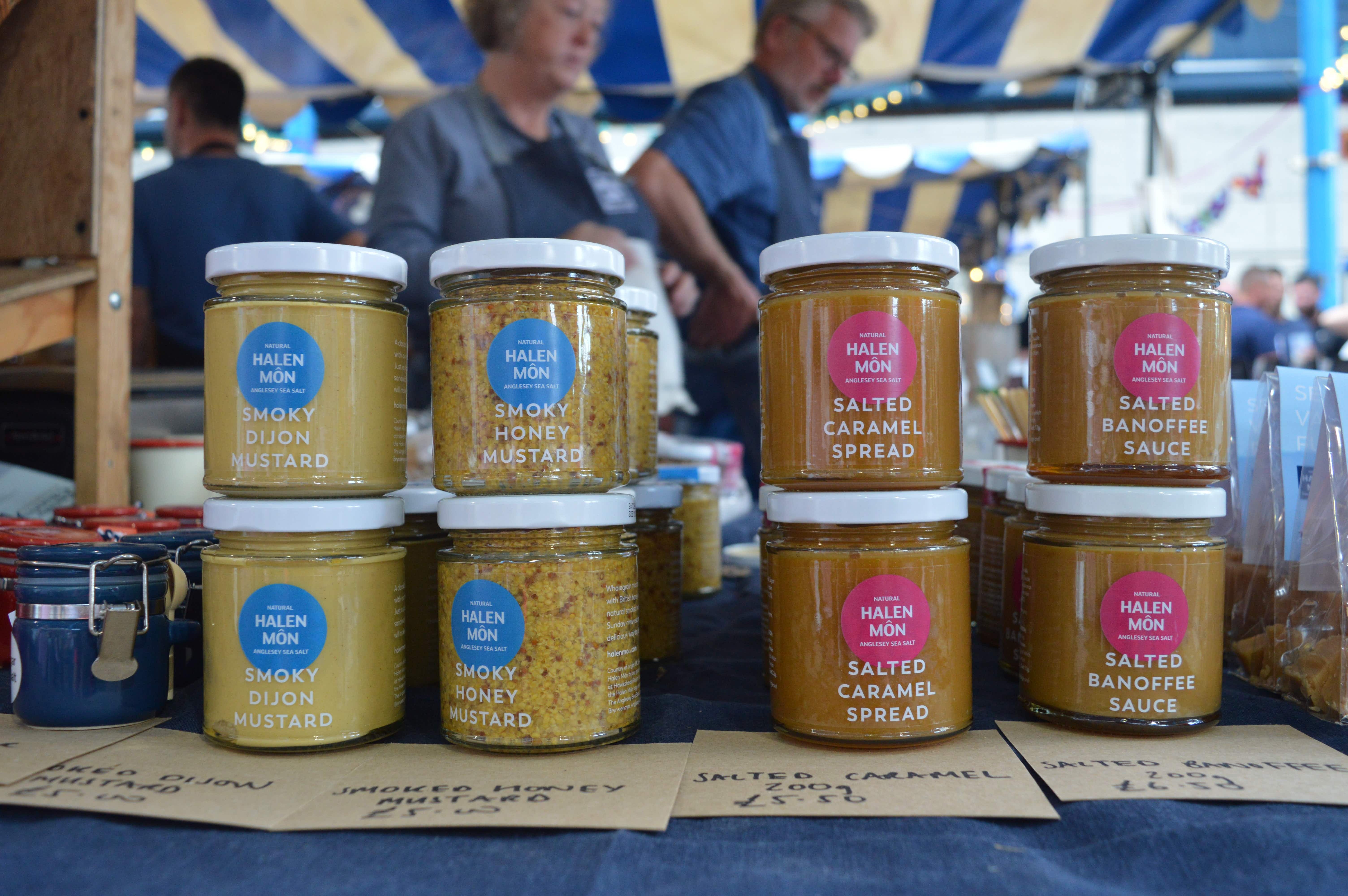 Taste the Obama's favourite condiment at Abergavenny Food Festival © Emma Sparks / Lonely Planet