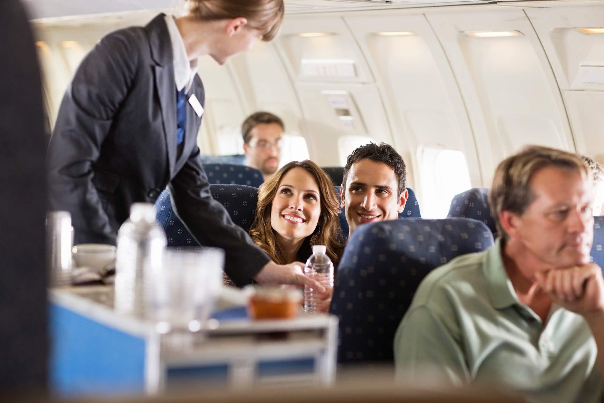 Cost is less important than in-flight services when it comes to keeping passengers happy © Compassionate Eye Foundation/Justin Pumfrey
