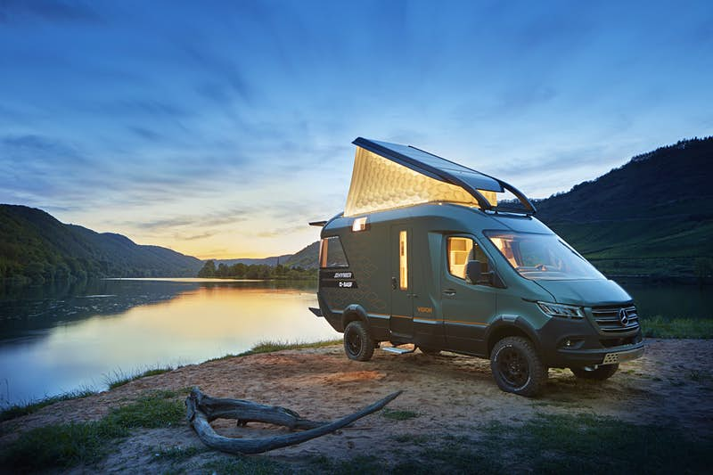 People can't stop talking about this futuristic camper van design