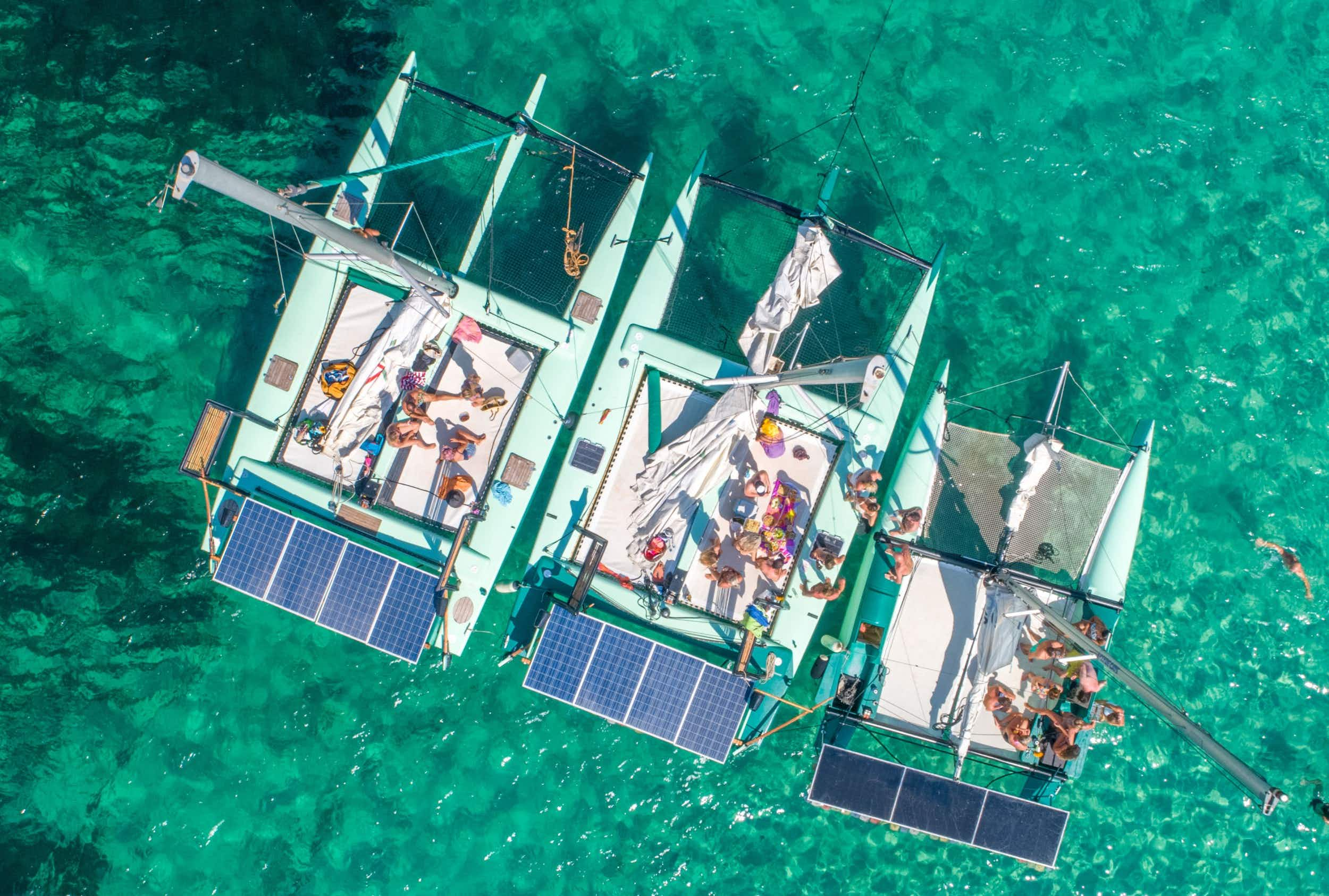 Solar-powered catamaran experience, La Bella Verde, has added two new green boats to its existing eco-friendly fleet Ibiza by Air