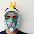 An Italian company has found a remarkable alternative use for snorkel masks © Isinnova