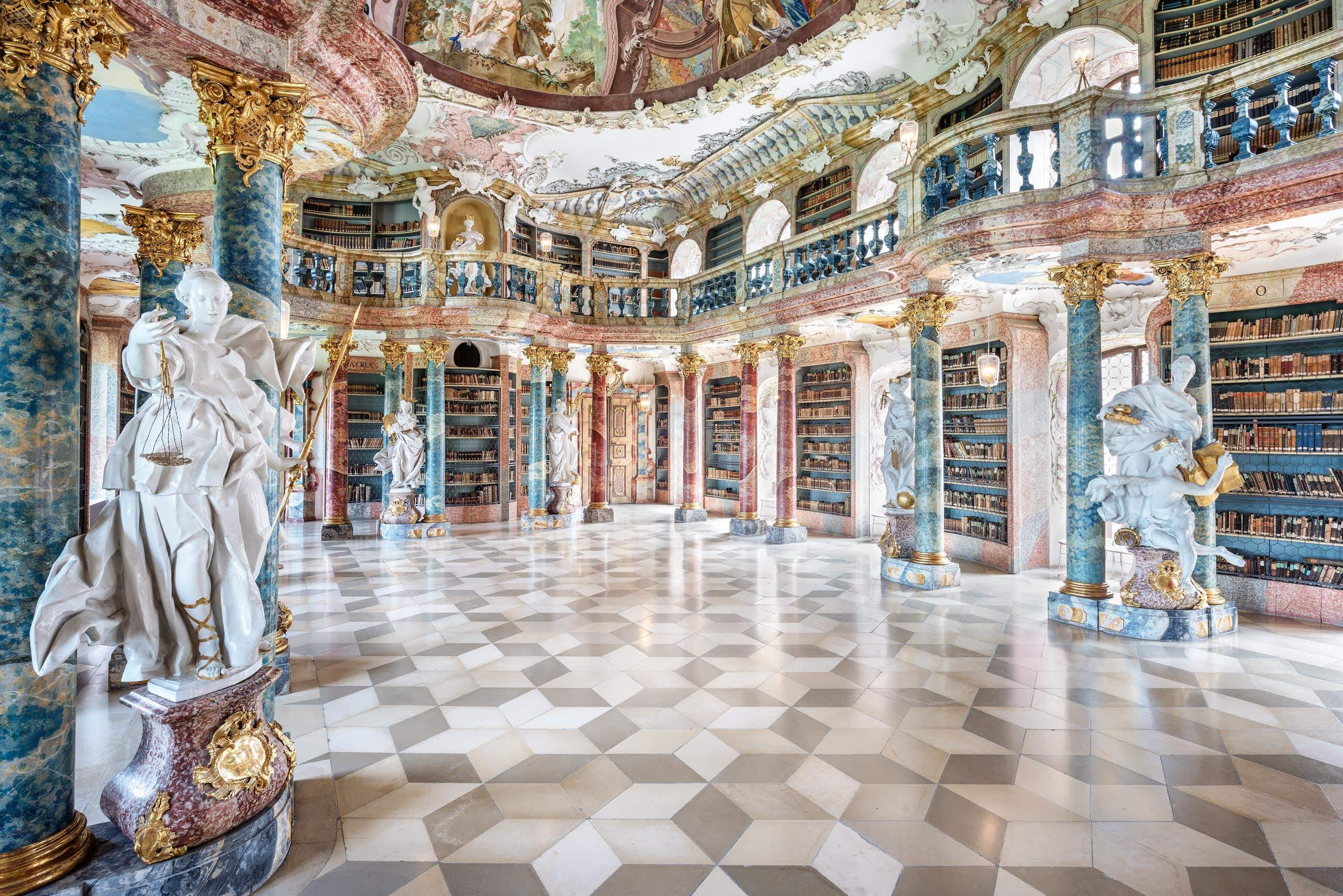 Europe's most beautiful modern and historical libraries