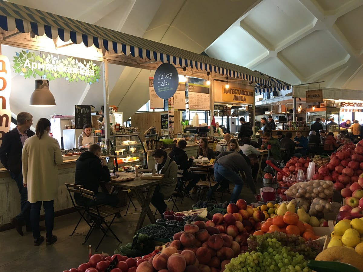 Why food markets in Moscow are having a moment - Lonely Planet