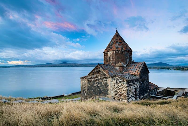 Sevanavank Monastery on Lake Sevan, Armenia