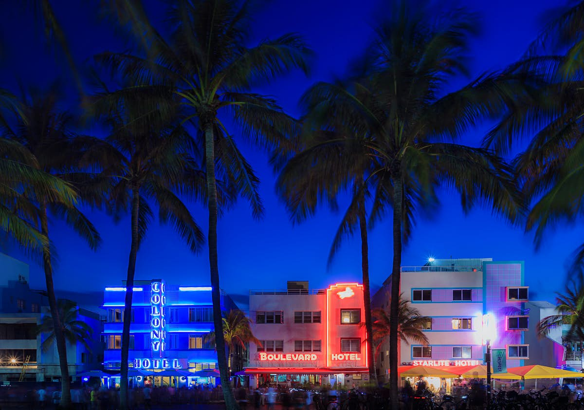 The many lives of Miami's South Beach, a district on show