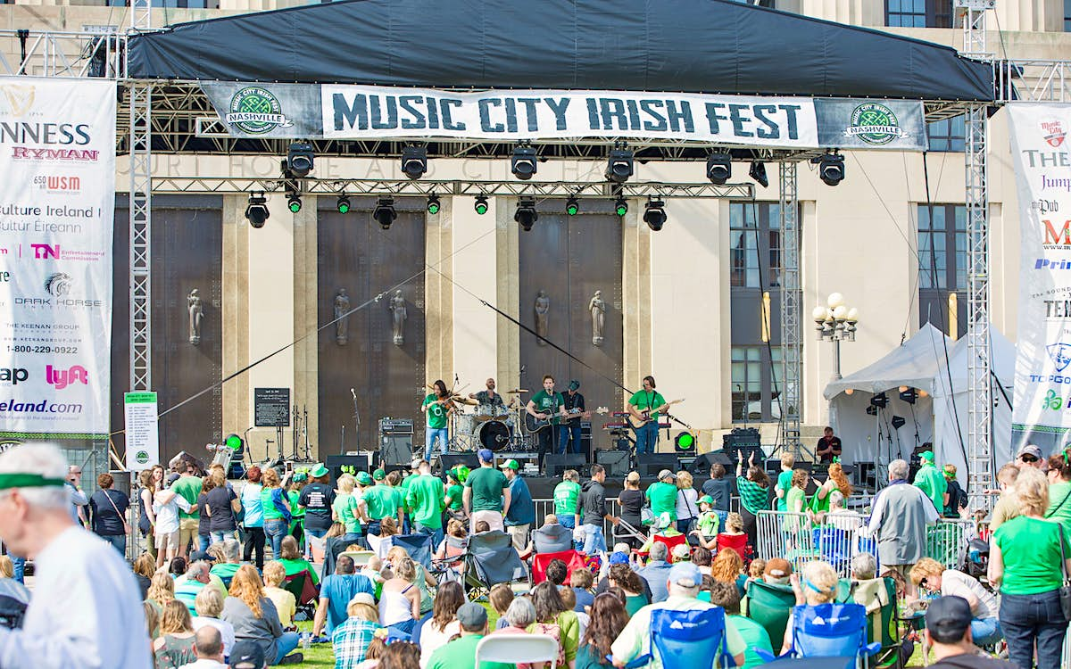 Nashville is hosting a four-day St Patrick's Day festival