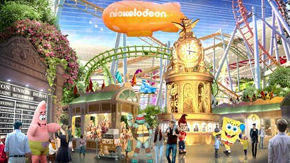 Mega-attraction set to open outside NYC complete with theme parks and an enormous shopping mall