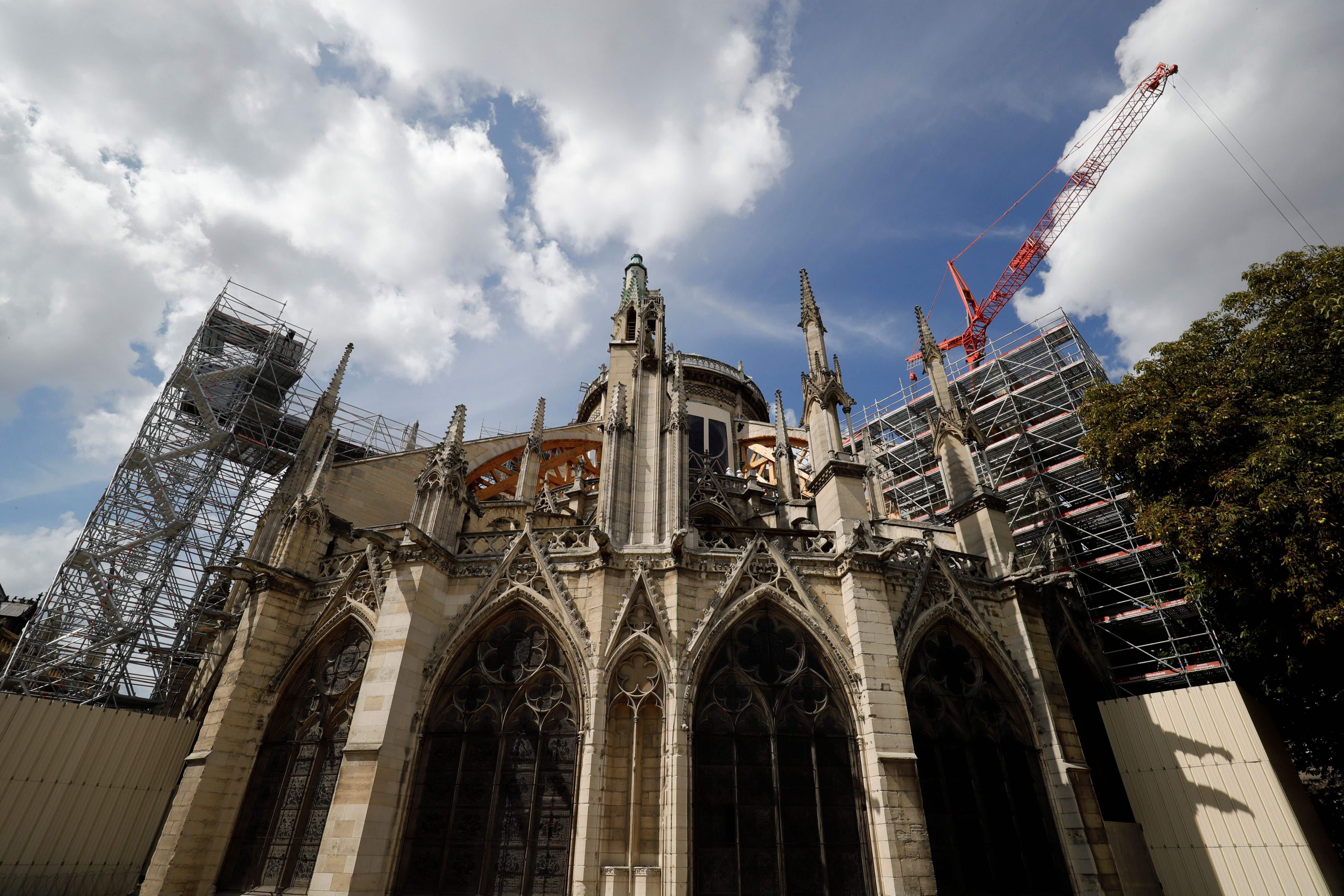 Notre Dame's cleanup efforts are back on track