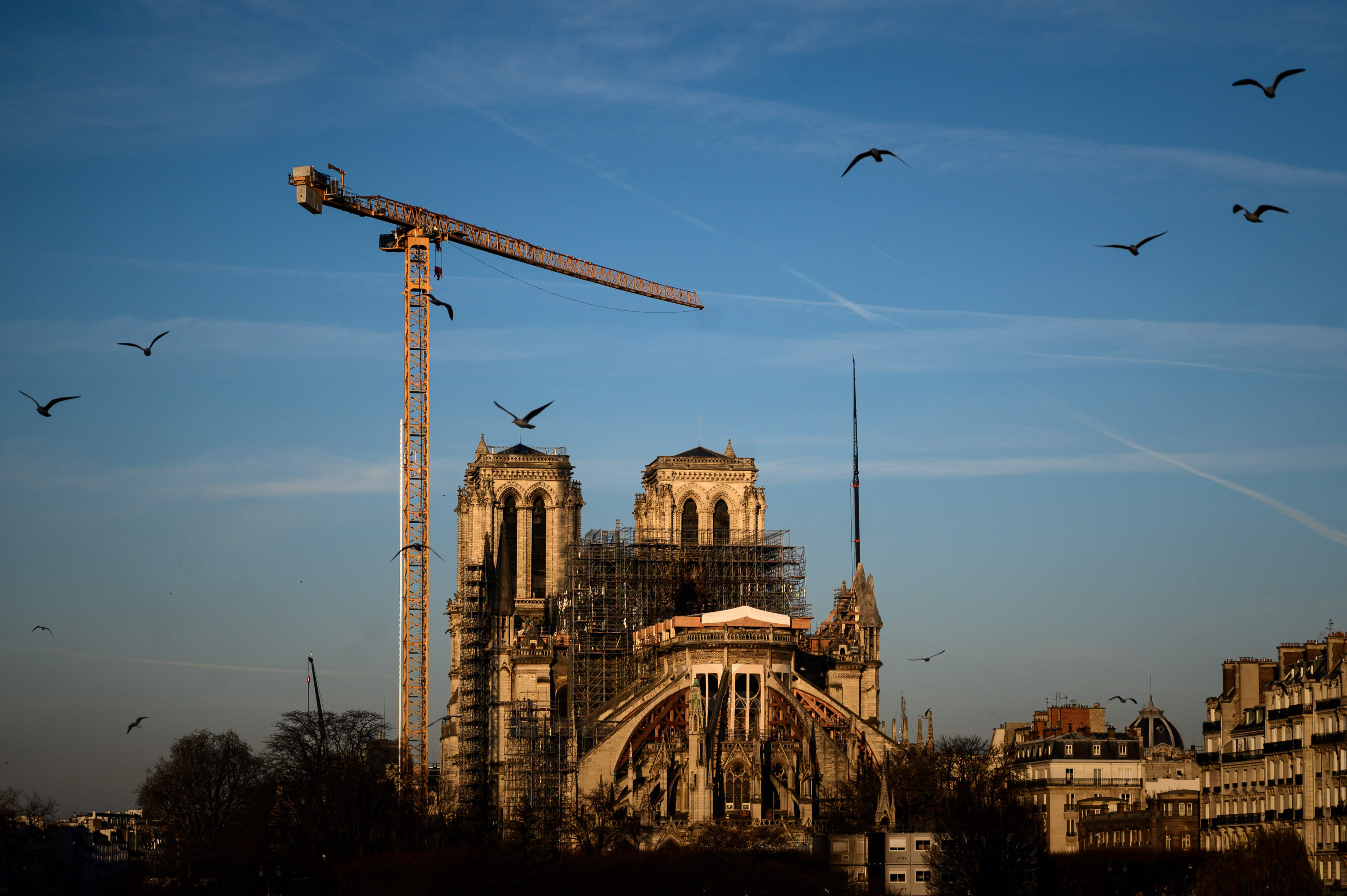 Notre Dame cathedral is still under threat of collapse