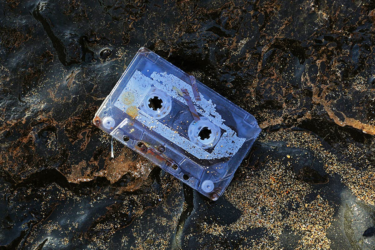 One woman was reunited with her lost mixtape after it washed up on a beach 20 years later