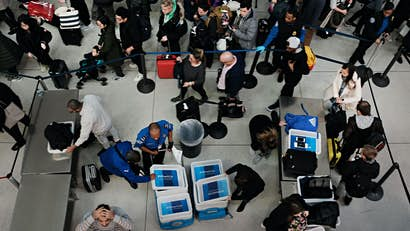 This tool could help travel apps provide real-time info on airport queues